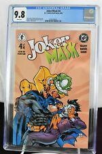 Joker/Mask #4 (2000) CGC Graded 9.8 Ramon F. Bachs Cover  DC/Dark Horse Comics