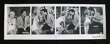 ELVIS PRESLEY-NANCY SINATRA Autographed Hulton Getty Ltd. Ed. 40x14 Giclee Art