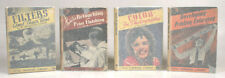 SET OF 4 LITTLE TECHNICAL LIBRARY BOOKS ON PHOTOGRAPHY 1939   1941
