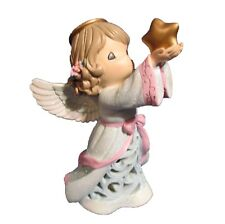 Precious Moments ~ LED Angel With Star Figurine ~ #121408