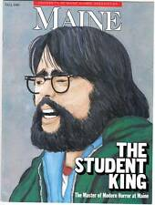 MAINE Fall 1989 feature on Stephen King as a student at the University of Maine.