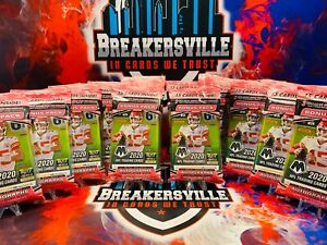 LA CHARGERS - 2020 NFL Mosaic Cello 12 Pack (Full box) Break #3 🔥