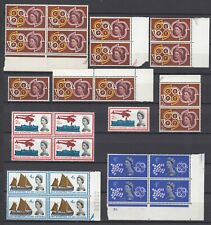 GB QEII. ☀ 1961 Europa Cept & 1963 Int. Lifeboat  Conference ☀ 26v MNH see scan