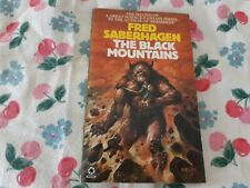 The Black Mountains by Fred Saberhagen