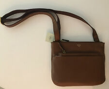 Fossil Tessa Xbody Crossbody Shoulder Bag Brown Leather Shb2054210