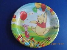 40 (4 Packs 10) Disney Winnie the Pooh & Piglet Birthday Party Paper Plates 23cm