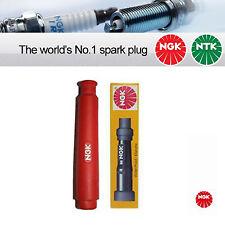 4x RESISTORE NGK SPARK PLUG CAP SD05FM ROSSO (8673)