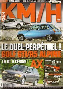 KM/H 44 CIVIC WTCC SIERRA COSWORTH TROPHY FIAT 131 ABARTH MERCEDES A45 AMG AX GT