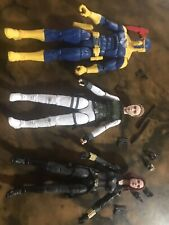 Marvel Legends Black Widow Crimson Dynamo Figure Lot Spymaster, Yelena Belova +