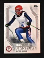 2018 Topps US Winter Olympics Base #US-28 Danelle Umstead