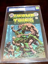 SWAMP THING #10 (CGC 8.5) 1974 FINAL BERNIE WRIGHTSON COVER & ART LEN WEIN STORY