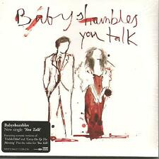 Pete Doherty BABYSHAMBLES You Talk 2ACOUSTIC & VIDEO CD single SEALED Libertines