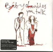 Pete Doherty BABYSHAMBLES You Talk 2ACOUSTIC & VIDEO CD single SEALED Libertines