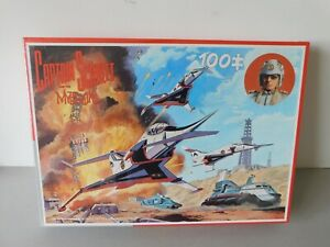 Captain Scarlet 100 Piece Puzzle Still Sealed In The Packaging Made By King 1993