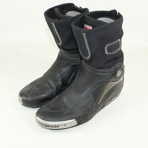 Dainese Axial Pro In Motorcycle Boot Black Size EU 46 US 12
