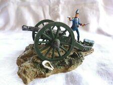 Diorama scénette 1er empire Canon Histoire de l'artillerie Atlas