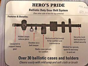 Hero's Pride Ballistic Duty Gear Rig, Seven pieces of gear in one kit!!