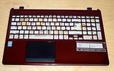 Acer Aspire E1-510, E1-532, E1-572 Couverture Top étui rouge foncé