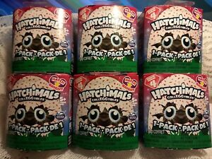 Hatchimals CollEGGtibles Season 4. Hatch Bright.LARGE LOT of 6 Boxes.Random.