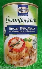 (8,75€/KG) 10x Keunecke Harzer WÜRZFLEISCH(10x400g) Ostprodukt  gratis Versand
