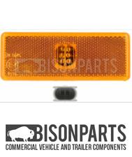 *Mercedes Actros Atego Axor LED Side Marker Light Amber Lamp E-mark Reflector
