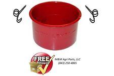 OIL BATH AIR CLEANER CUP & CLIPS FORD 2N 9N 8N NAA 600 700 800 900 TRACTOR