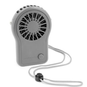 1pk/3pk Simply Genius Personal Necklace Fan for Neck, Portable, Hanging, Cooling