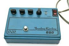 Vintage 1970s DOD 680 Analog Delay Guitar Pedal V1 with Reticon R5101 CCD Chip