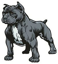 Pitbull sticker- Dog -Art - Window - Auto Decal