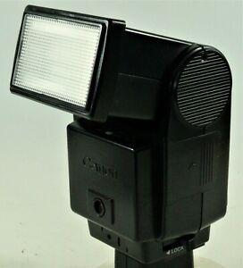Canon Speedlite 199A Dedicated  Head Flash. V.G.W.O. Tested In Pouch + Insts.