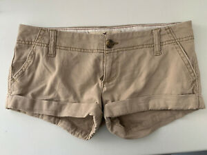 **HOLLISTER SOCIAL STRETCH FEMALE DENIM STYLE SHORTS SIZE 0 WAIST 24**