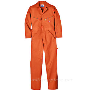 Dickies Coveralls Mens LONG SLEEVE Mechanic Coveralls 4870 Cotton