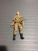 "Vtg 1996 GI JOE Hasbro 12"" US Marines ACTION FIGURE #91971 MODERN CAMO Outfit"