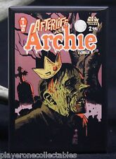 """Afterlife with Archie #1 Comic Cover 2"""" X 3"""" Fridge / Locker Magnet. Jughead"""