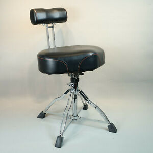 Tama 1st Chair Ergo-Rider Drum Throne w/Backrest Used, in great condition