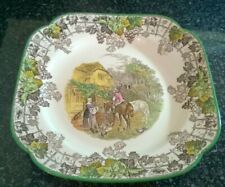 Copeland Spode England Spode's Byron Square Plate 8 1/2 inches approx