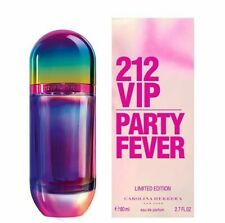 212 VIP Party Fever by Carolina Herrera 2.7 oz. EDT Spray for Women. Sealed Box.