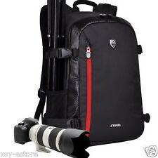 DSLR Multifunctional Black Professional Camera Backpack Bag for Nikon Canon EOS