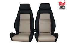 2 Recaro Specialist ls cuero Audi RS 2, golf 1,2 convertible
