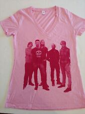 Maroon 5 Concert T-Shirt. Women's Xl Pink V-neck. New without tags.
