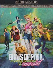 BIRDS OF PREY/HARLEY QUINN 4K ULTRA HD & BLURAY & DIGITAL SET with Margot Robbie