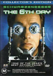 THE 6th DAY starring Arnold Schwarzenegger (DVD, 2001) - LIKE NEW!!!