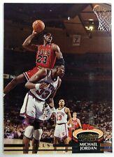 1992-93 Topps Stadium Club Michael Jordan #1, Chicago Bulls, HOF