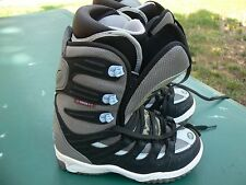 Women's RIDE Orion Snowboard Boots, Black/Grey, Size US 9, UK 7, CM 26, EUR 40.5