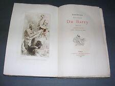 Curiosa Octave Uzanne Anecdotes Ctse Du Barry.Document les moeurs du XVIII° 1880