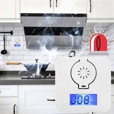 LCD CO Carbon Monoxide&Smoke Detector Alarm Poisoning Gas Warning Sensor UK New