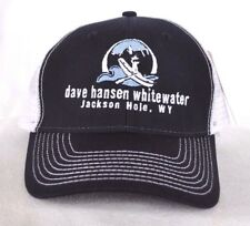 *JACKSON HOLE WYOMING* Whitewater Rafting Trucker Ball cap hat snapback *OURAY*