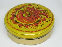 Vintage Soviet Empty Candy Tin Box - FIREBIRD, USSR, 1970s