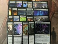 20 BLACK MTG Rares - Magic the Gathering mixed Lot