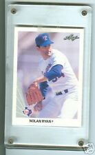 1990 Nolan Ryan Hall of Fame Pitcher NM Leaf HOF